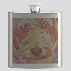 Harvey the Doodle Flask