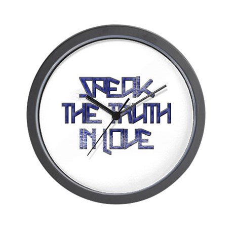 SPEAK THE TRUTH 2 Wall Clock