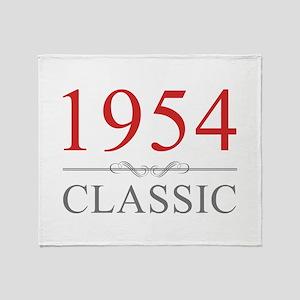 1954 Classic Throw Blanket