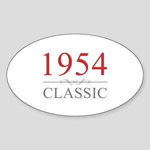 1954 Classic Sticker (Oval)