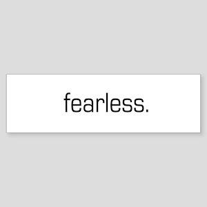 Fearless Bumper Sticker