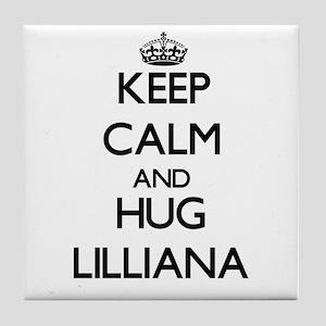 Keep Calm and HUG Lilliana Tile Coaster