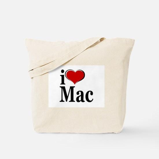 I Love Mac! Tote Bag