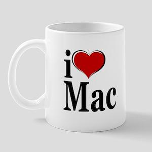 I Love Mac! Mug
