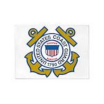 US Coast Guard 5'X7'area Rug