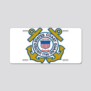 US Coast Guard Aluminum License Plate