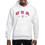 USA - USCG Hooded Sweatshirt