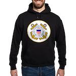 US Coast Guard Hoodie (dark)