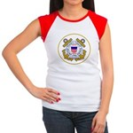 US Coast Guard Women's Cap Sleeve T-Shirt
