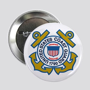 US Coast Guard 2.25&Quot; Button