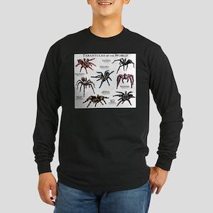 Tarantulas of the World Long Sleeve Dark T-Shirt