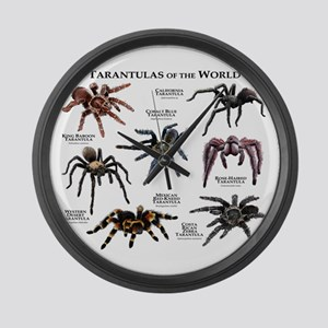 Tarantulas of the World Large Wall Clock