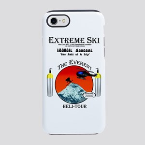 Heli Skiing Mt. Everest iPhone 7 Tough Case