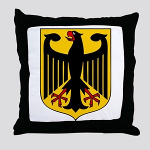 Germany Coat of Arms Throw Pillow