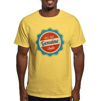 Retro Genuine Quality Since 1969 Light T-Shirt