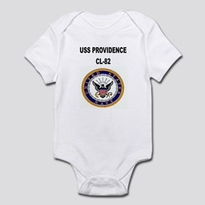 USS PROVIDENCE Infant Bodysuit