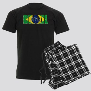 Brazil Logo Men's Dark Pajamas