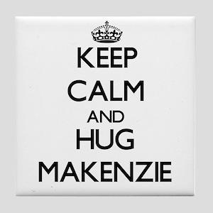 Keep Calm and HUG Makenzie Tile Coaster