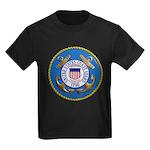 USCG Emblem Kids Dark T-Shirt