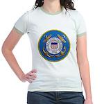 USCG Emblem Jr. Ringer T-Shirt