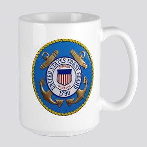 USCG Emblem Large Mug