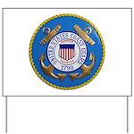 USCG Emblem Yard Sign