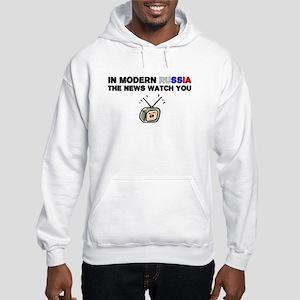 News Watch You Hooded Sweatshirt