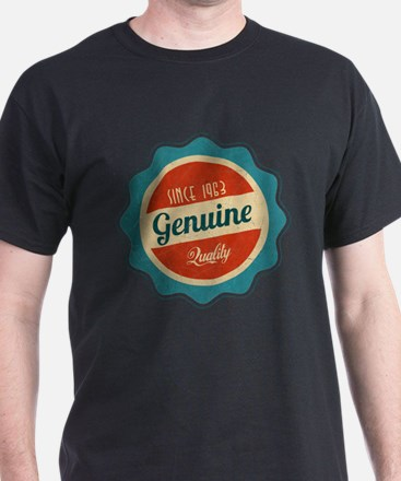 Retro Genuine Quality Since 1963 T-Shirt