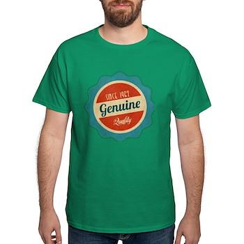 Retro Genuine Quality Since 1962 Dark T-Shirt