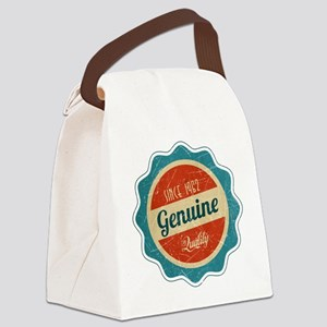 Retro Genuine Quality Since 1962 Canvas Lunch Bag