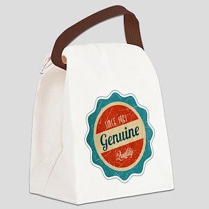 Retro Genuine Quality Since 1961 Canvas Lunch Bag