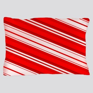 Peppermint Candy Cane Pillow Case