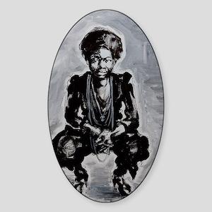 Nina Simone Sticker (Oval)