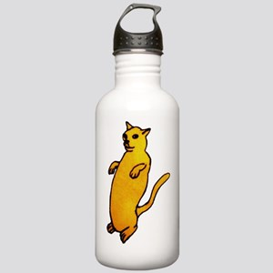 Weird Cat Zombie Walk Stainless Water Bottle 1.0L