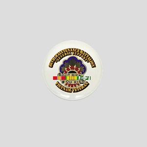 Army - 86th Maintenance Bn w SVC Ribbon Mini Butto