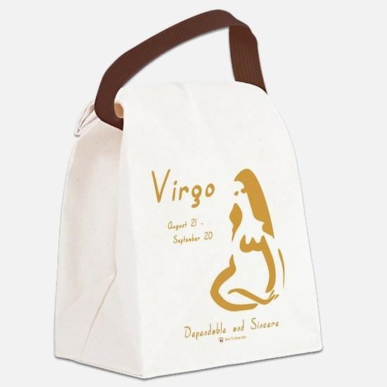 Virgo Canvas Lunch Bag