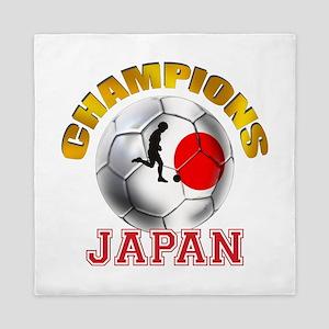 Japanese Soccer Queen Duvet