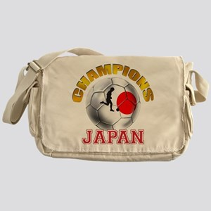 Japanese Soccer Messenger Bag