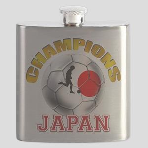Japanese Soccer Flask