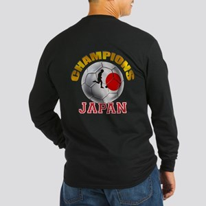 Japanese Soccer Long Sleeve Dark T-Shirt