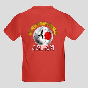 Japanese Soccer Kids Dark T-Shirt