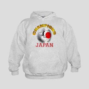 Japanese Soccer Kids Hoodie