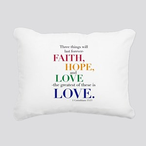 Faith, Hope, Love, The Greatest of these is Love R