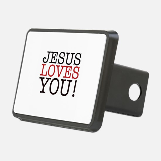 Jesus loves You! Hitch Cover