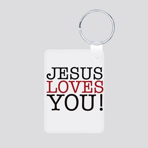 Jesus loves You! Keychains