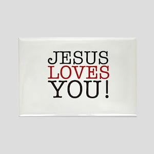 Jesus loves You! Magnets