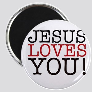 Jesus loves You! Magnets