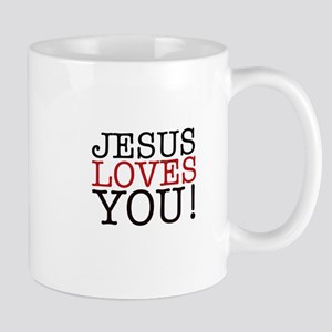 Jesus loves You! Mugs