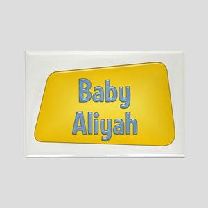 Baby Aliyah Rectangle Magnet