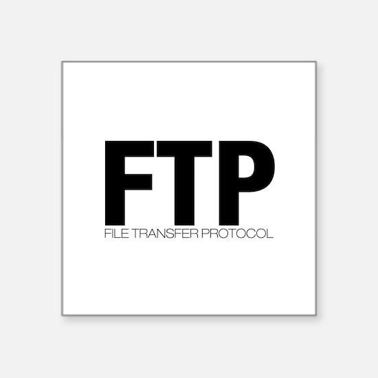 ftp Sticker